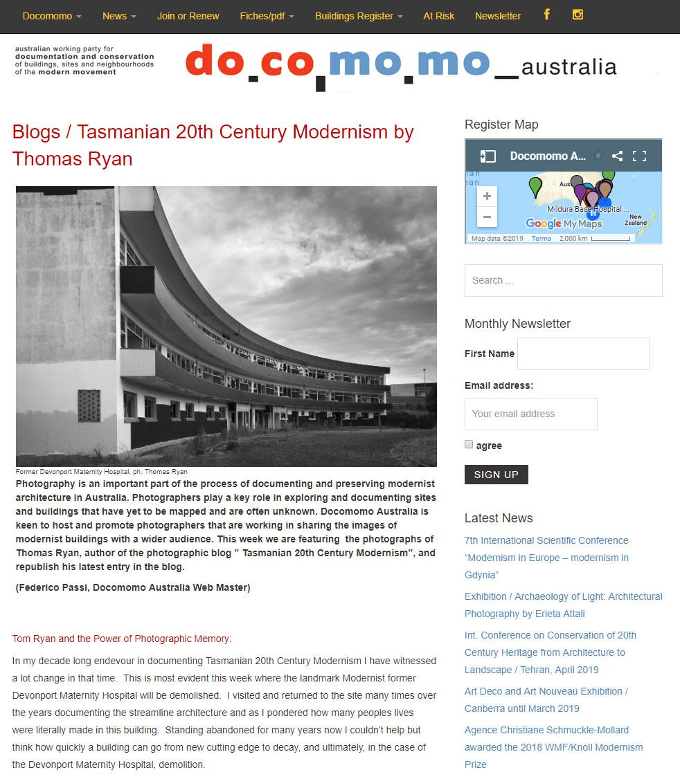 Docomomo Australia