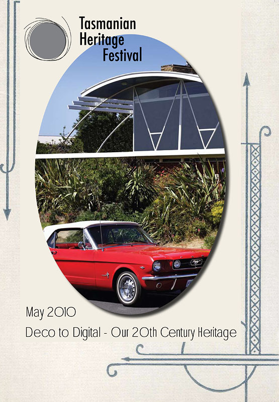 """Tasmanian Heritage Festival, Tasmanian National Trust Heritage Festival """"Deco to Digital"""" Commissioned to produce photos of Tasmanian architecture for use throughout the Heritage Festival magazine"""