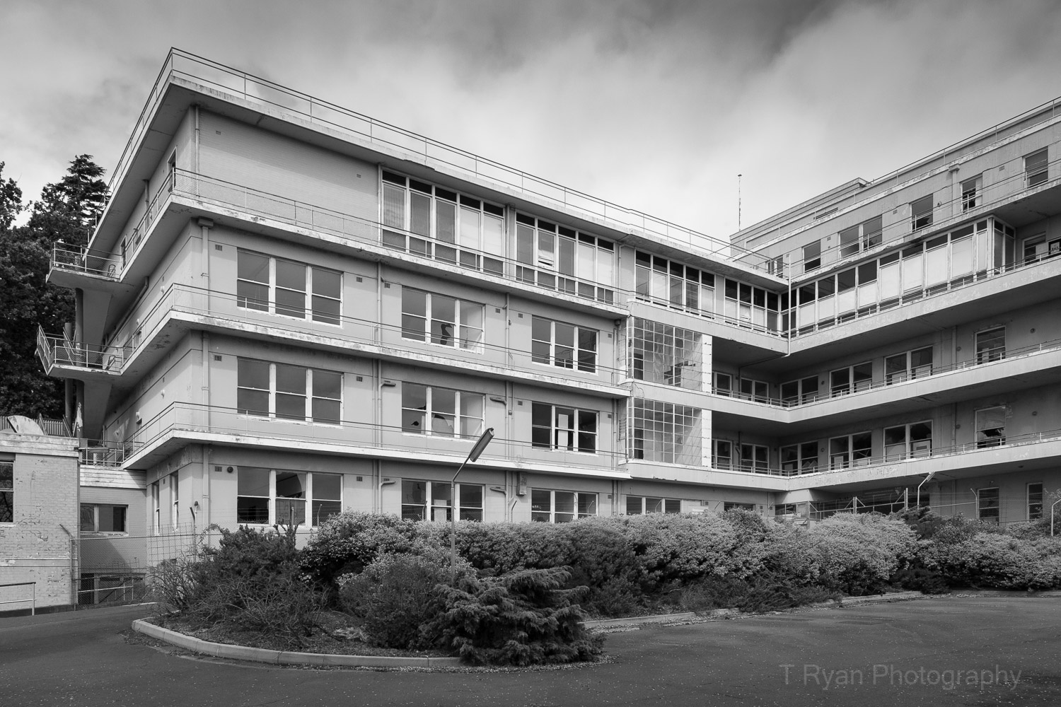 The abandoned Launceston General hospital stood abandoned for many years - I captured this photograph in 2007.