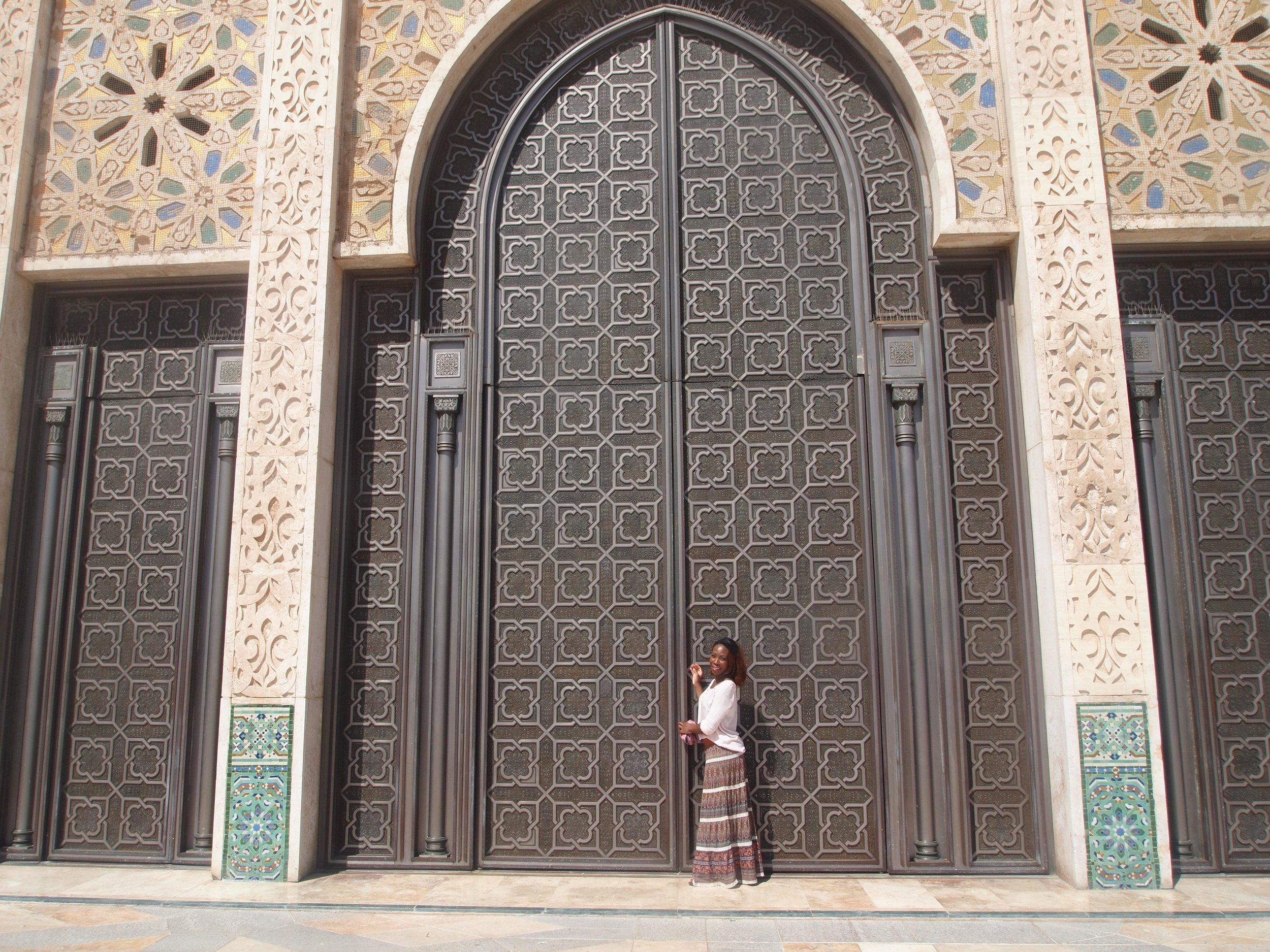 City: Casablanca  Hassan II Mosque - Busola