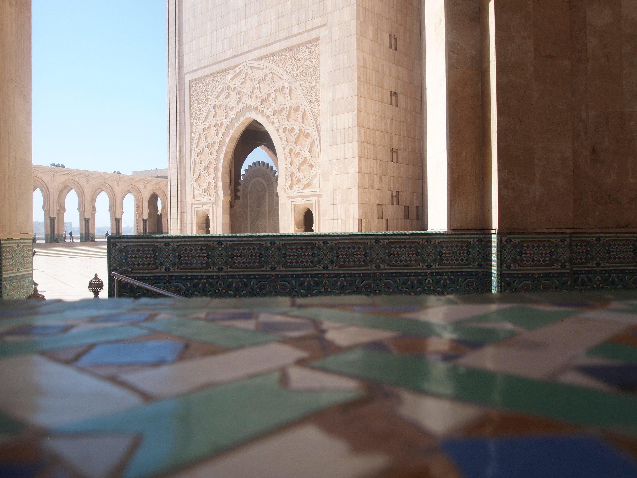 City: Casablanca  Hassan II Mosque