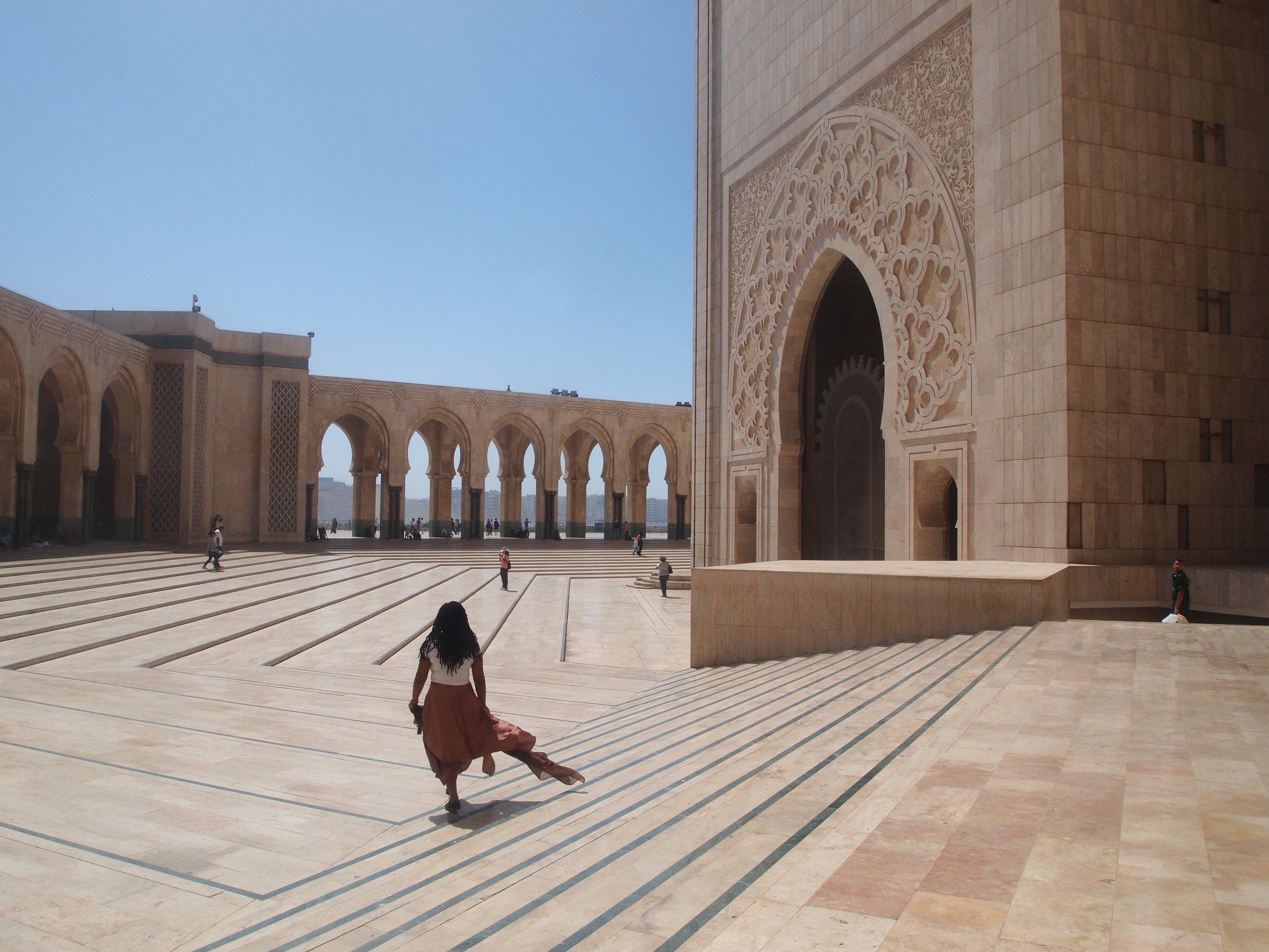 City: Casablanca  Hassan II Mosque-Chanile
