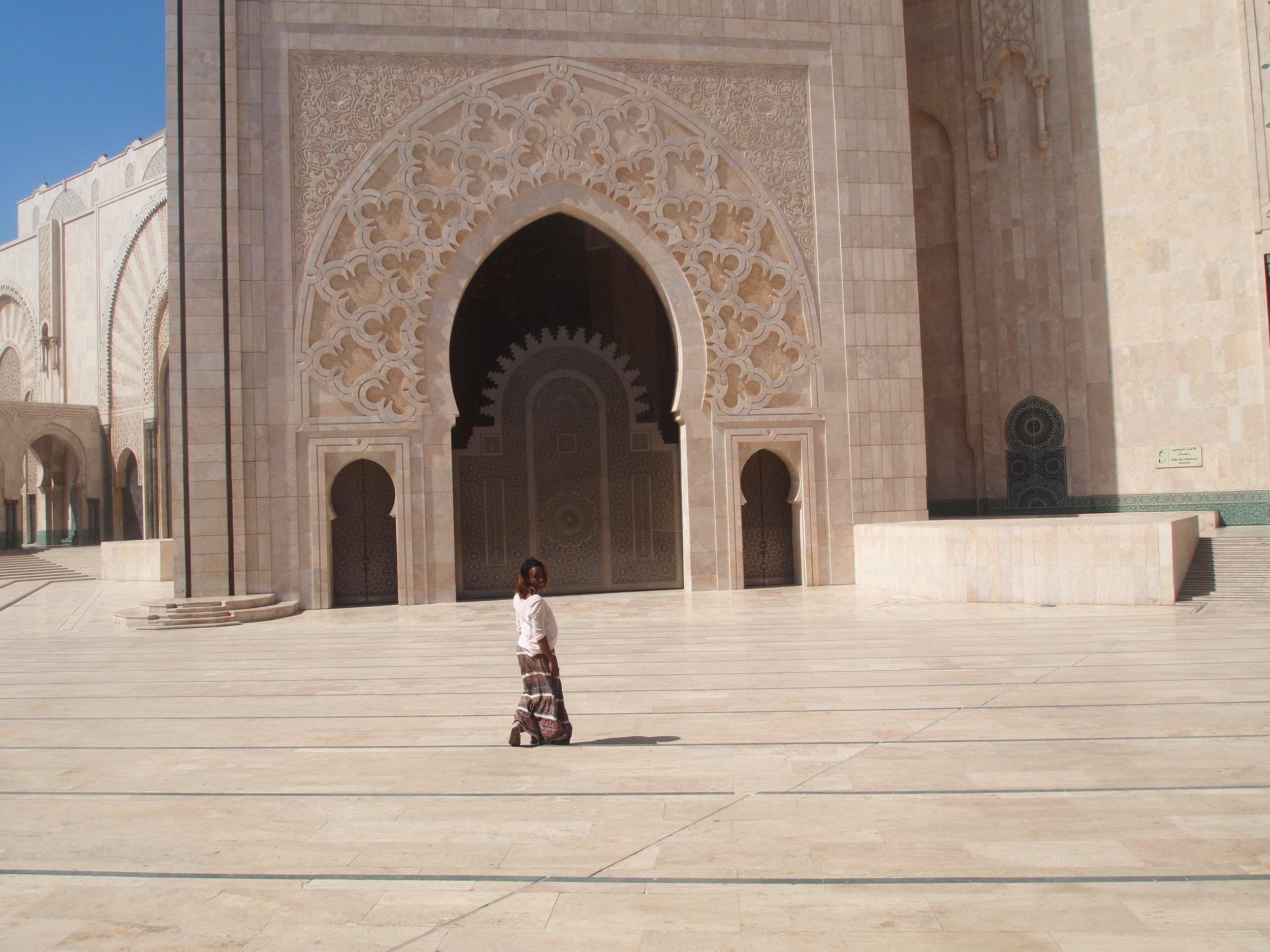 City: Casablanca  Hassan II Mosque- Busola