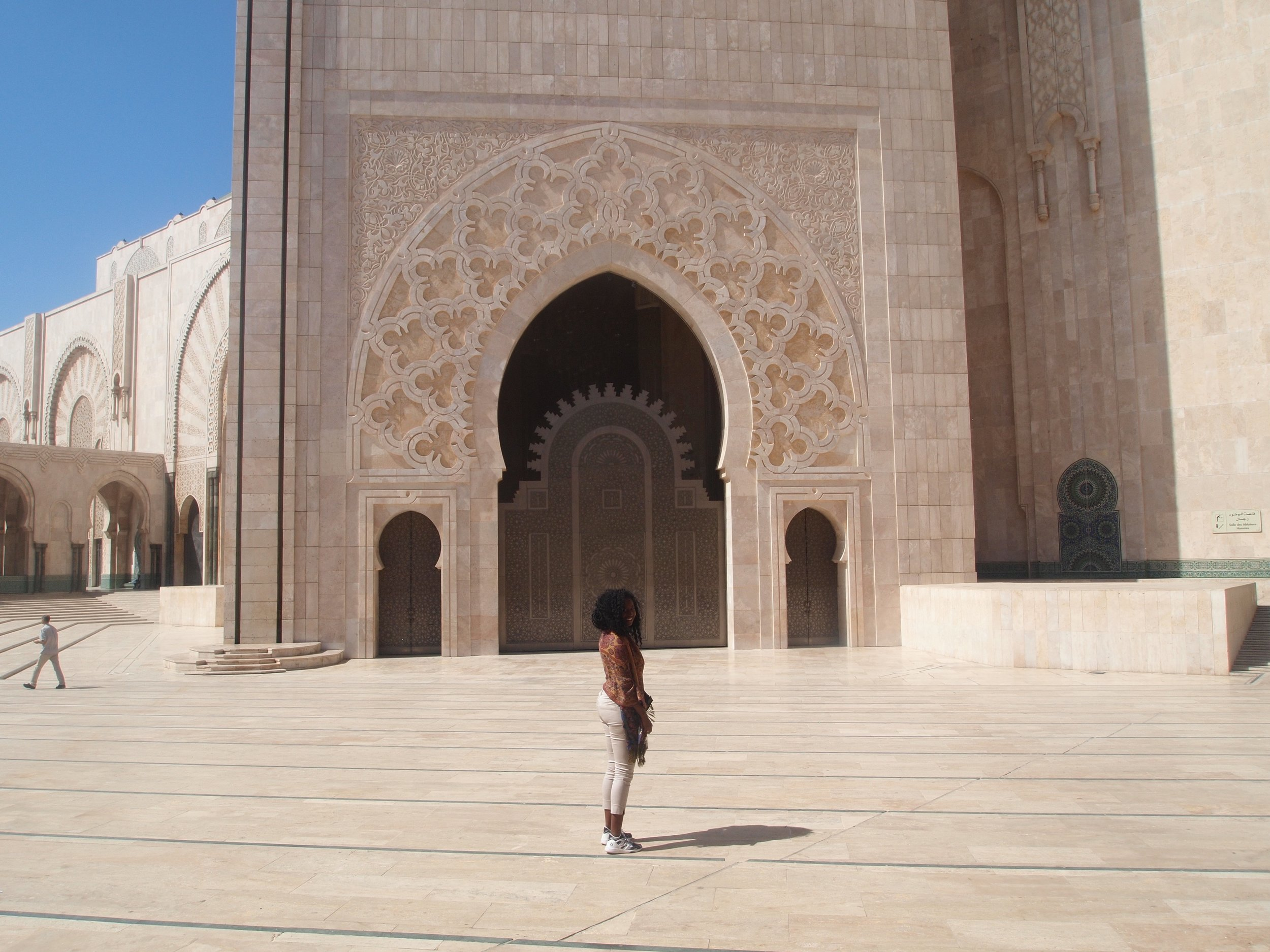 City: Casablanca  Hassan II Mosque- Marilyn