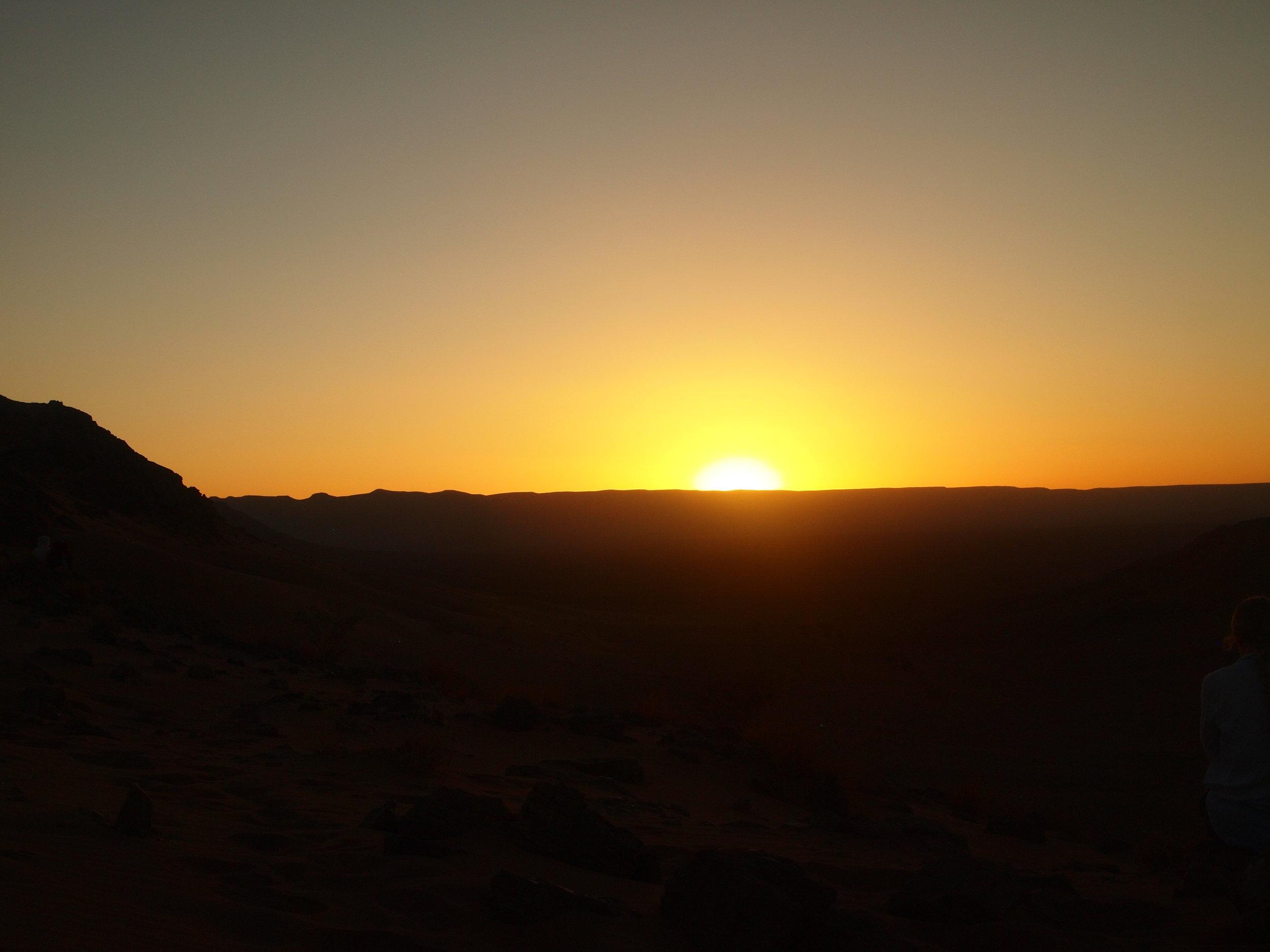 City: Zagora Desert  The Journey - Camp site-Sunrise