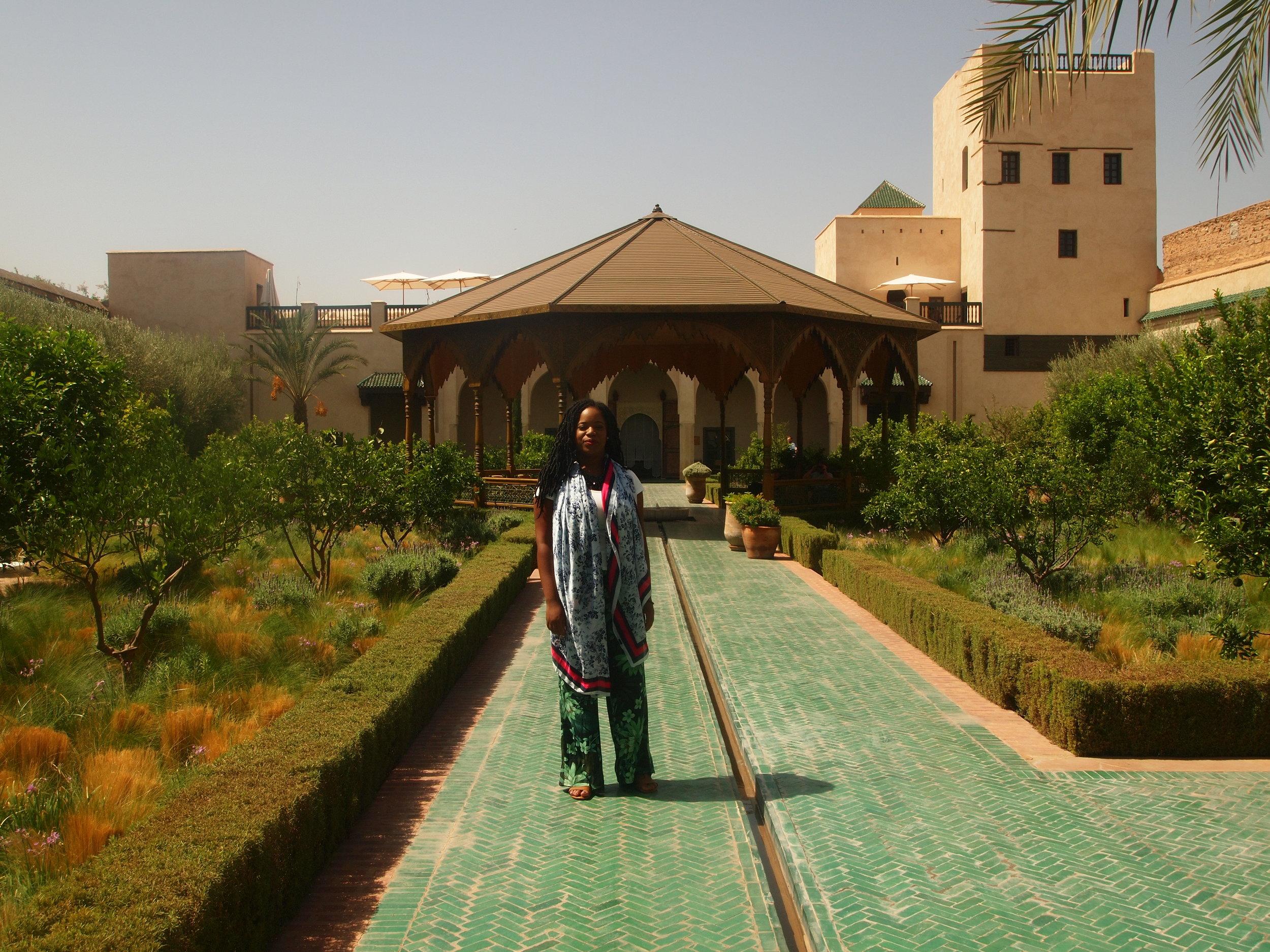 City: Marrakesh  Le Jardin Secret, (the secret garden)