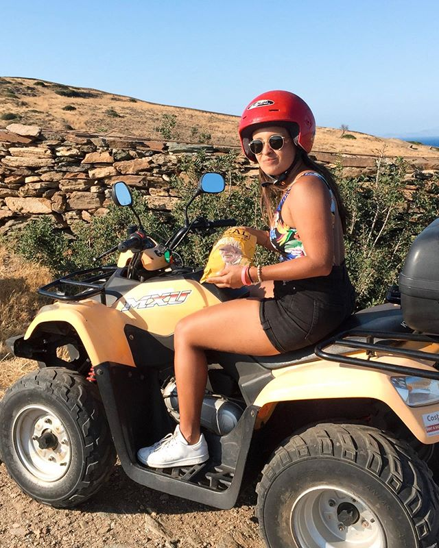 Dangerous quad riding are the best adventure days I've lived for 🏍🌵| #sandyinios #europeansummer ⠀⠀⠀⠀⠀⠀⠀⠀⠀ ⠀⠀⠀⠀⠀⠀⠀⠀⠀ ⠀⠀⠀⠀⠀⠀⠀⠀⠀ #ios #iosisland #iosgreece #greeksummer #visitgreece #ilovegreece #greece #unlimitedgreece #femmetravel #sheisnotlost #wearetravelgirls #thetravelwomen #whereitravel #dametraveler #girlmeetsglobe #girlslovetravel #globelletravels #theverygirltravels #mytravelgram #traveldiary #littlestoriesofmylife #takemeanywhere #mydomainetravels #wheretofindme #meettheworld #travelislife #postcardfromtheworld #adventurevisuals