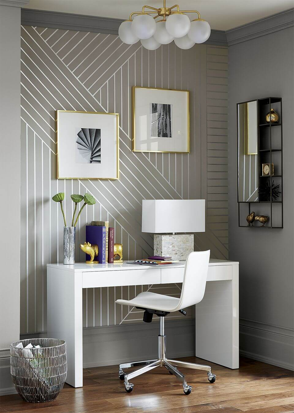 How To Paint The Perfect Striped Accent Wall Kayla Simone Home