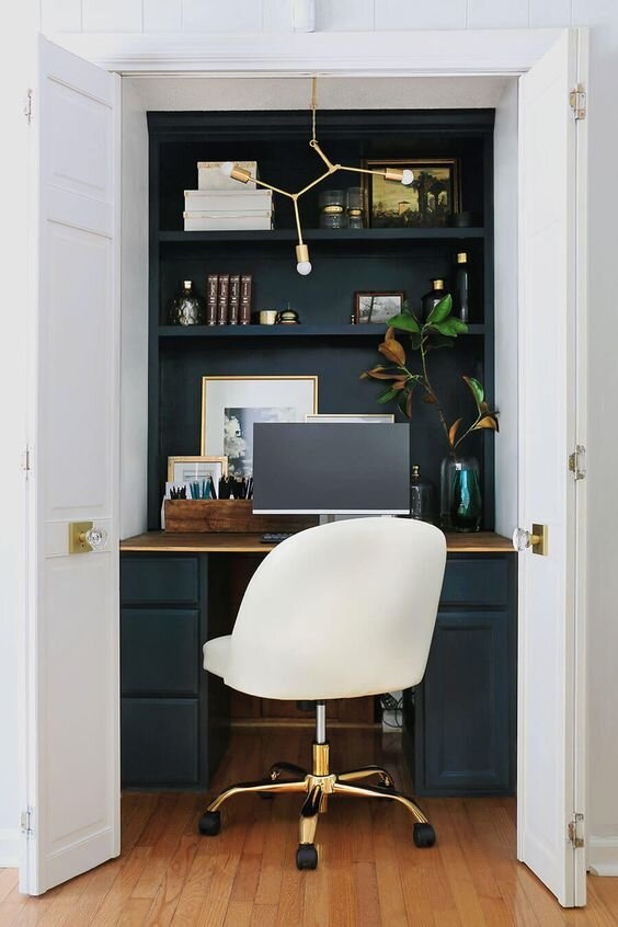 Small Space Solutions 6 Tiny Home Offices That Rock My Own Little Workspace Kayla Simone Home