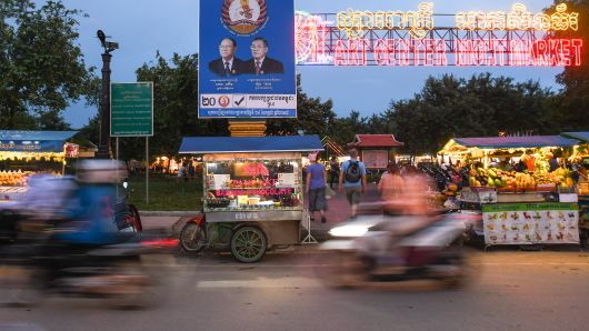 CNBC: Japan-China Rivalry Plays Out in Cambodia's Election -