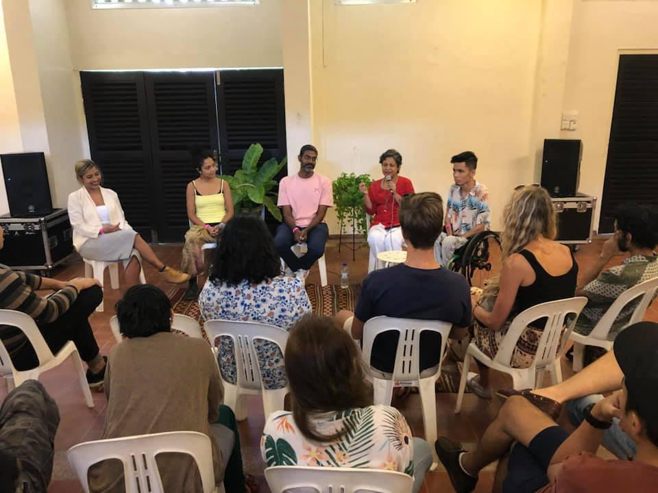 December 2018: Creating safe spaces for minority artists in Singapore with spoken-word poet Deborah Emmanuel, rapper Danial Bawthan, LGBT activist Prashant Somosundram and True Colours festival director Audrey Pereira