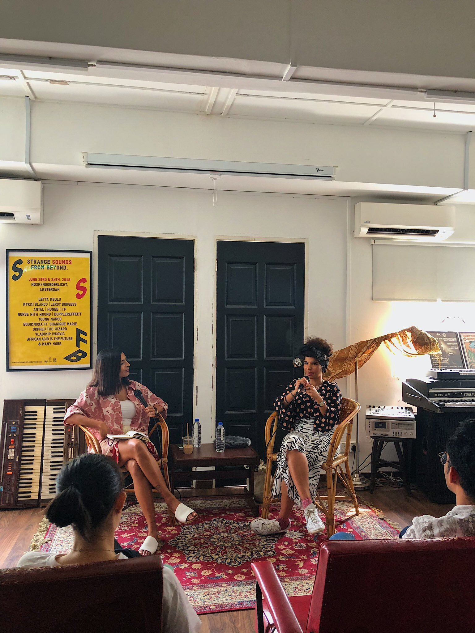 September 2019: U.K. multi-instrumentalist Nabihah Iqbal discussing representations of South Asian identity in the global music industry