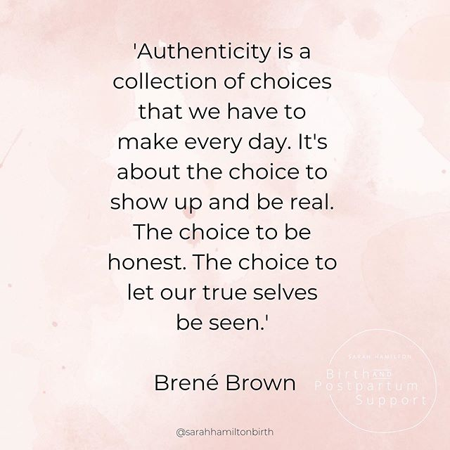 There is too much to loose by not showing up and not living authentically. It's a work in progress and a journey. But it feels.so.good. 🌿⠀ Yeah I'm a @brenebrown fan 🙌🏼⠀