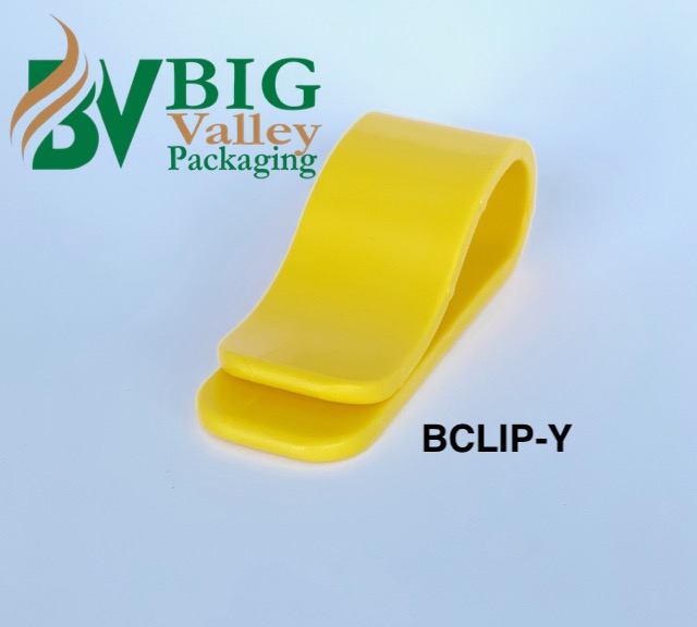 Yellow Bclip - Yellow BCLIP Clips hold carton flaps open holders