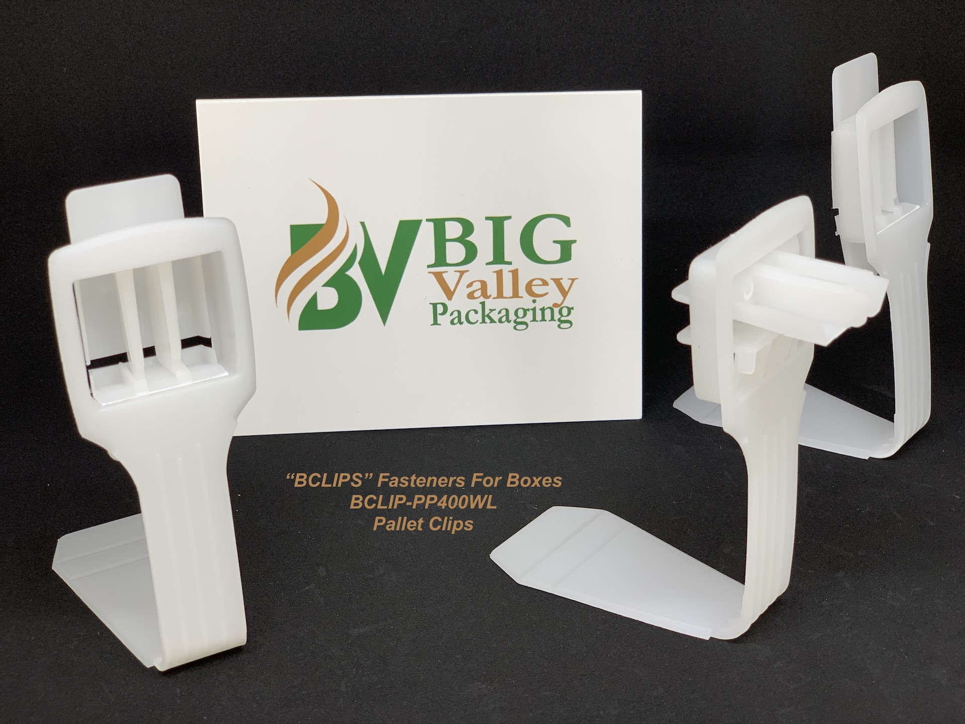 BCLIP-PP400WL BCLIP Pallet Clip Connecting Cardboard Boxes To Wood Pallets