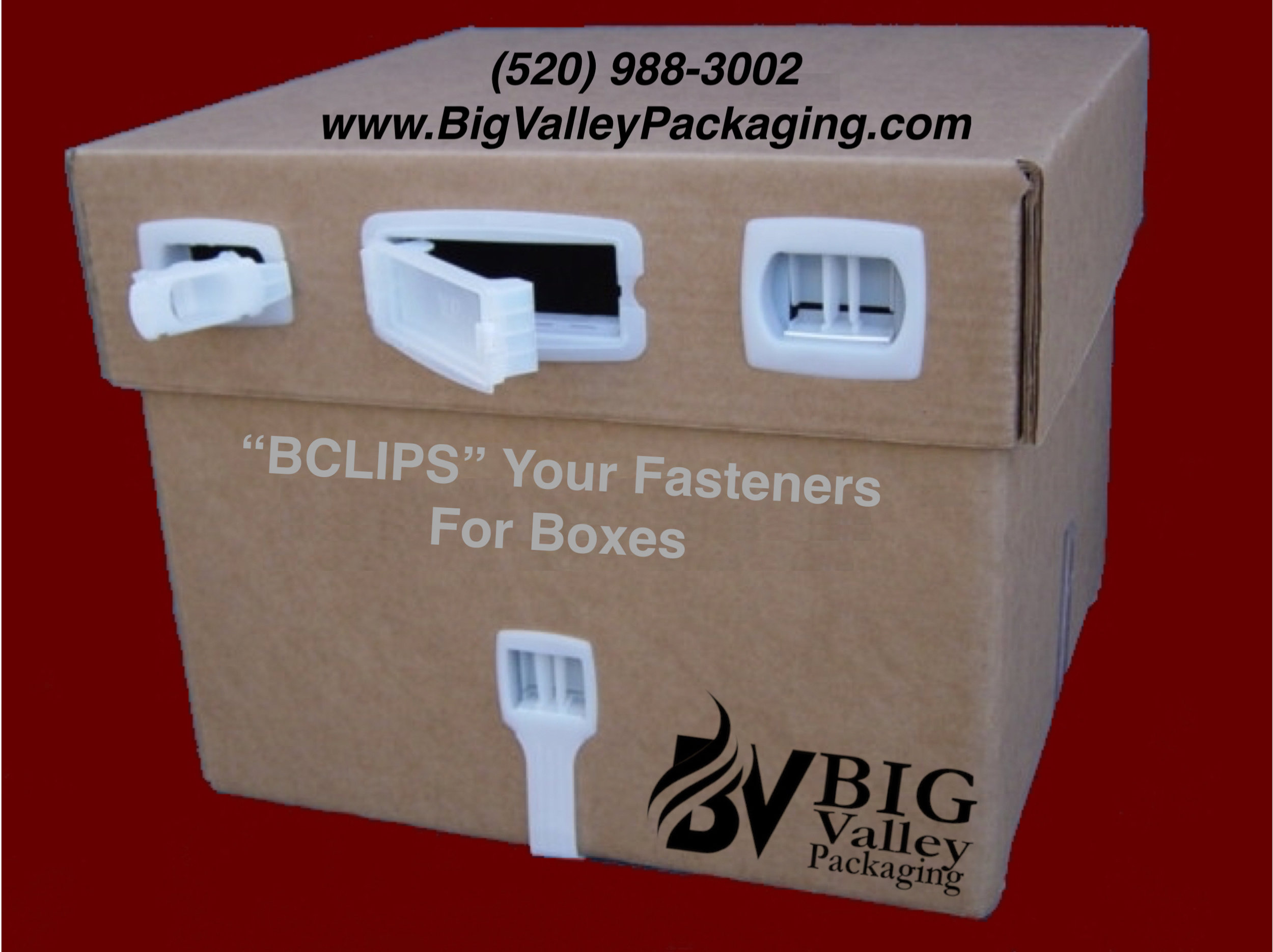 """BCLIPS"" (beeclips) Plastic Box Clip Fasteners"