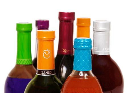 Heat shrink bottle cap bands safety seals printed