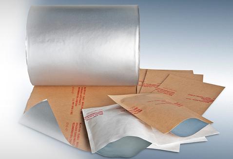 Military Barrier Rolls Tubing Bags Paper Kraft Foil Tyvek