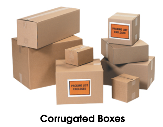 shipping boxes -