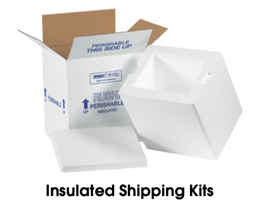 cold frozen shipping boxes -