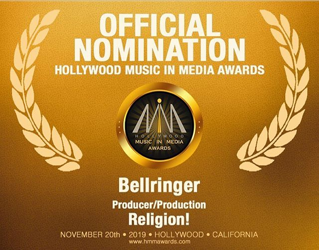 I've been nominated for a huge award! The song Religion! by Shelita @shelitaburke . Sometimes things happen and I don't share about it. Then I remember that y'all are my family and support system for my dreams and what I want to see happen in the world for myself and others. Who else to celebrate with?! I'm excited because this is the first time I've been nominated for a producer award here in Hollywood! I don't take anything for granted. Y'all are a blessing in my life and share the journey with me. Win or lose I'm honored to be in consideration! Shelita Burke this is our nomination. Family, this is your nomination as well...Let's all celebrate together. Thank you @hmmawards Hollywood Music in Media Awards! #musicawards #nominated