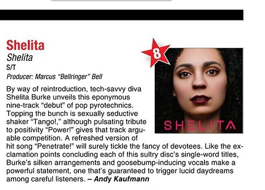 Hey Family, The Shelita album I produced is being featured in September's Music Connect Magazine (@music_connection) issue. Shelita (@shelitaburke) is one of the voices of the new music business movement. Feel free to add the album to your playlists and lift your spirit. 🔔🔔🔔 #musicproducer #featuredartist