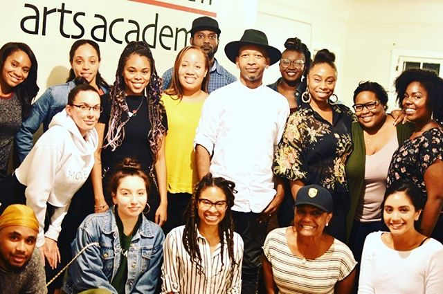 I enjoyed sharing time with this ambitious group of songwriters and future songwriters. Thanks for inviting me to speak @whitehallartsacademy @tanishalovesyoutoo 🔔🔔❤ #mentor #musicproducer