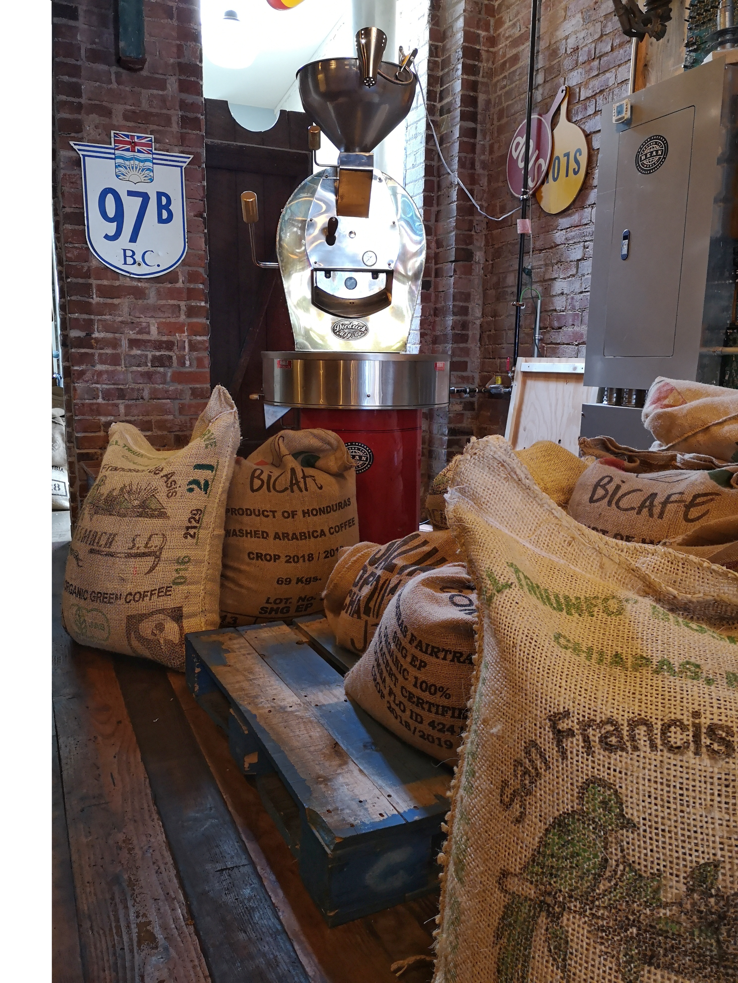 Coffee roasted in Victoria's Chinatown