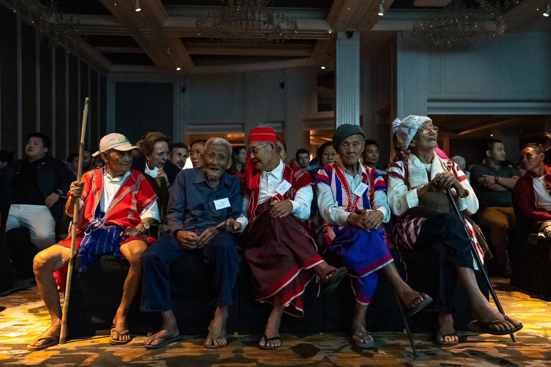 WW2 Veterans from across Myanmar were the guests of honour at the Forgotten Allies Myanmar Premiere