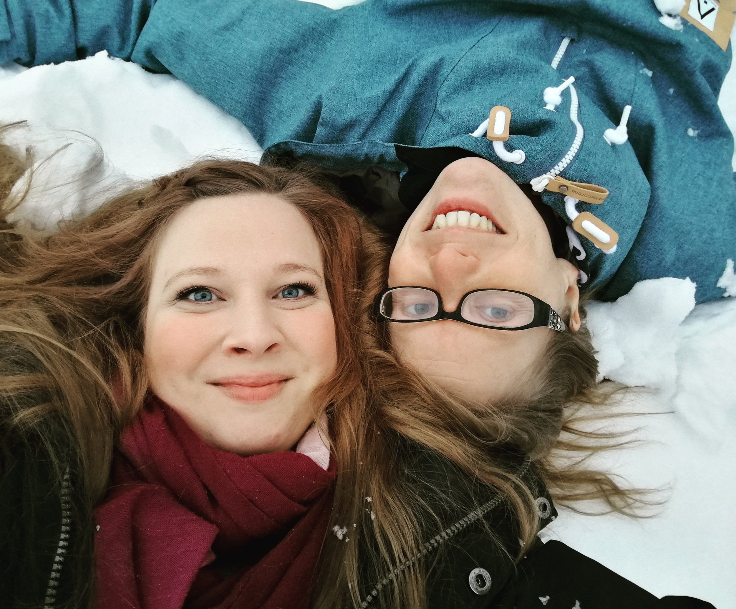Kristin Boussard och Therese Forsberg