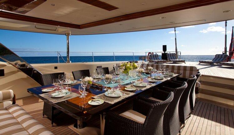 Tiara Super Yacht Charter
