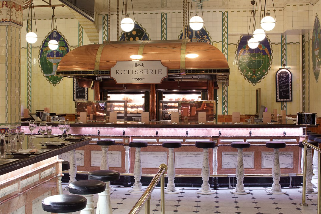 Harrods Food Hall   A working relationship spanning over 10 years, o1creative have worked extensively in this famous Knightsbridge store.