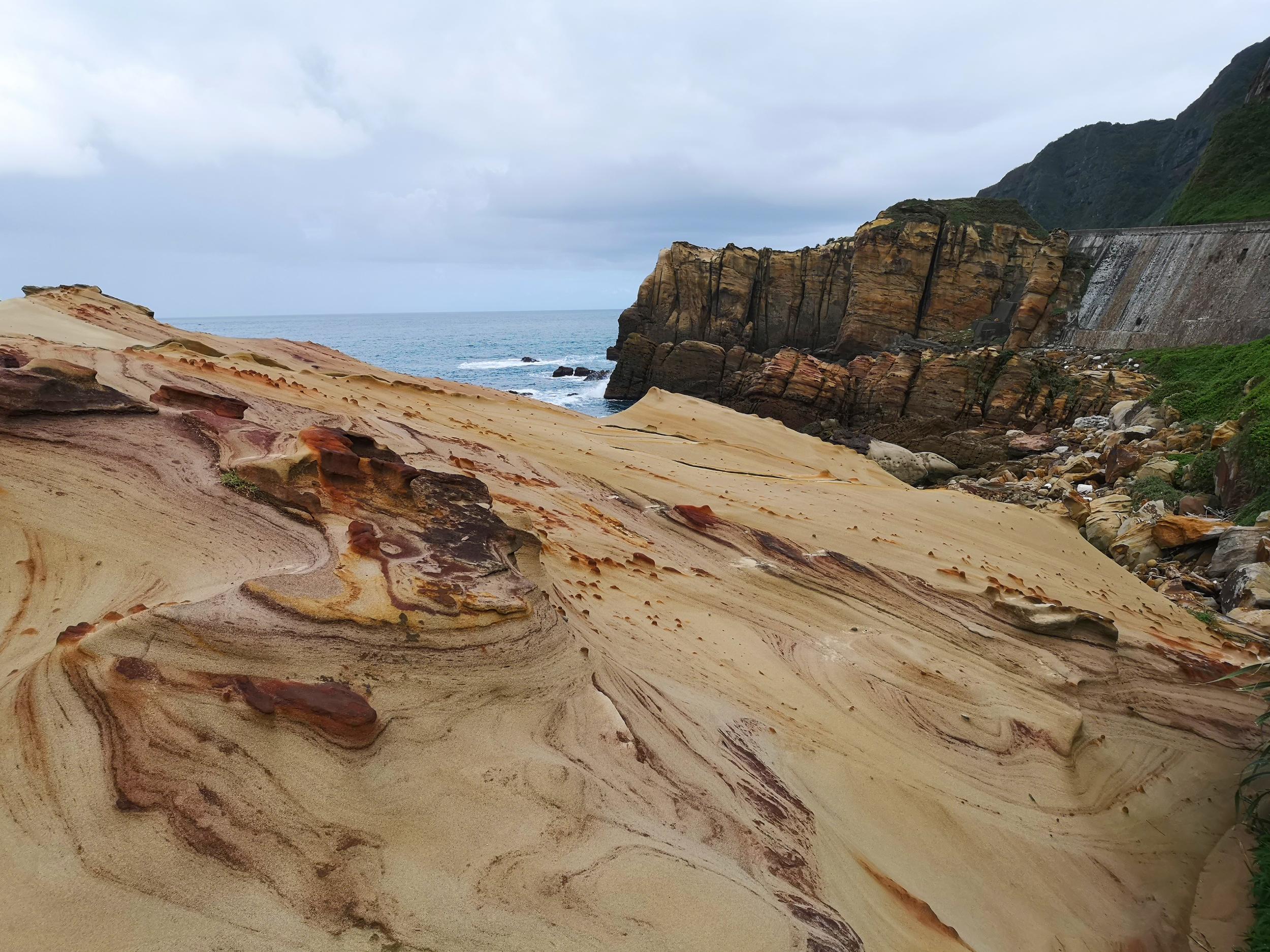 Nanya Rock Formation Taiwan