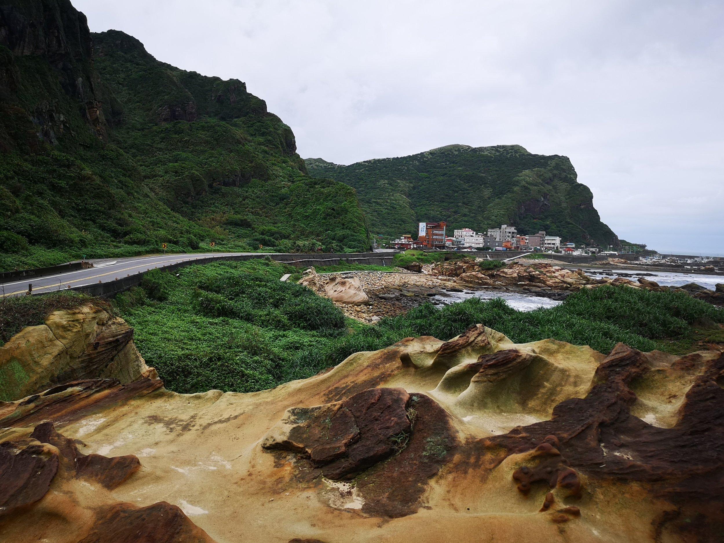 Nanya Rock Formation