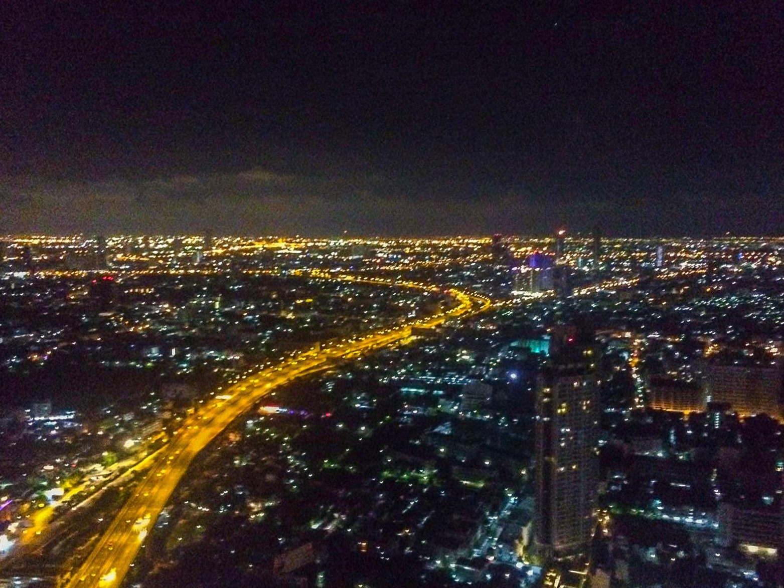 Sky Bar Thailand Bangkok view