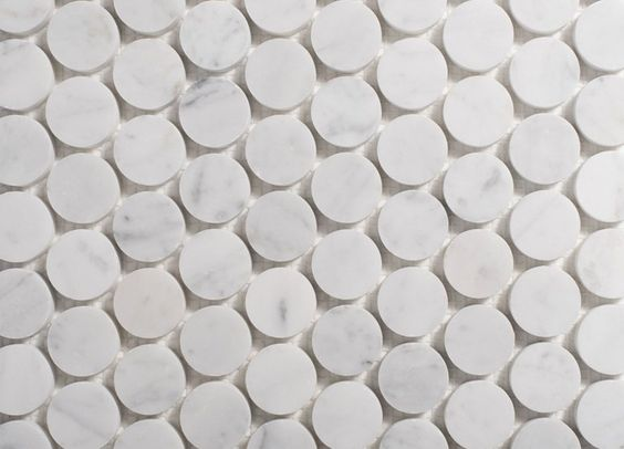 Marble Penny Tile