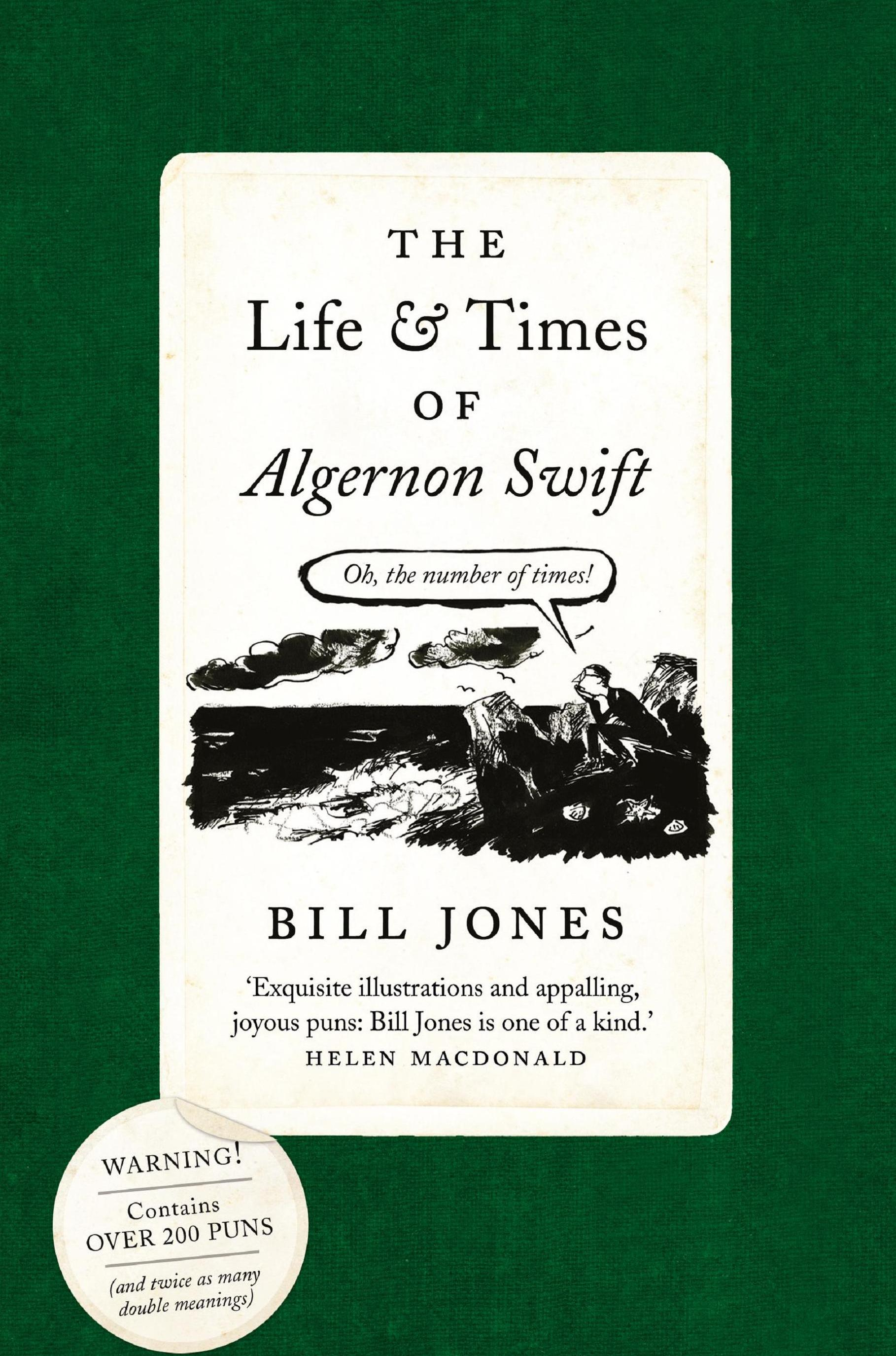 The life And Times of Algernon swift - My illustrated novel of puns, The Life and Times of Algernon Swift, was published in 2017 by Head of Zeus.Our young and earnest hero, Algernon Swift, returns from his travels abroad and must once more face the trials of life, love and the English language.Back at home, Algernon tries to cope with the exorbitant passion of the exquisite Mavis (a woman with X on her mind) and his elderly uncle, Reverend Hawker, and his exasperating inability to mean one thing at a time.Well-meaning in a world of double meanings, can Algernon avoid becoming another of Mavis's Xs or, at least, plunging into an existential crisis of his own?Available from good bookshops and online retailers.
