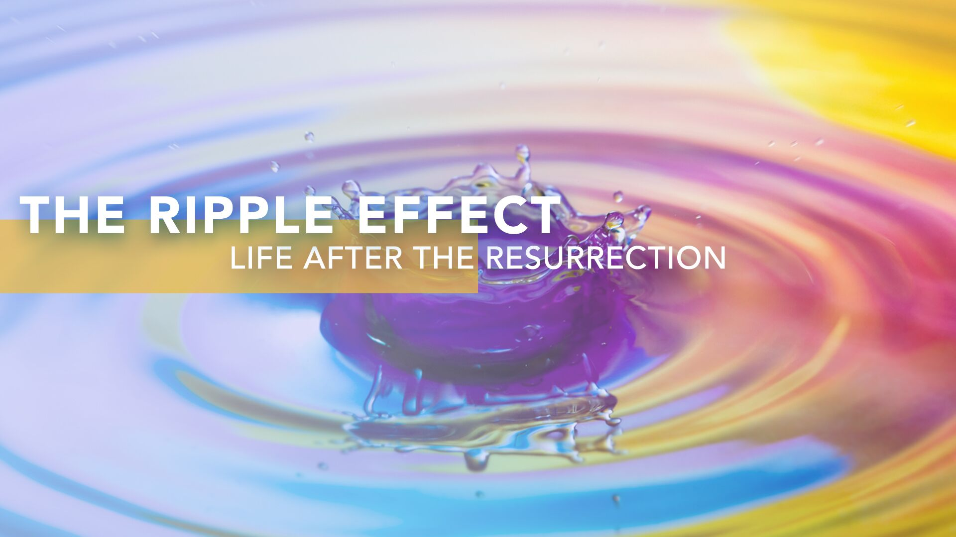 The Ripple Effect Series: Life After The Resurrection