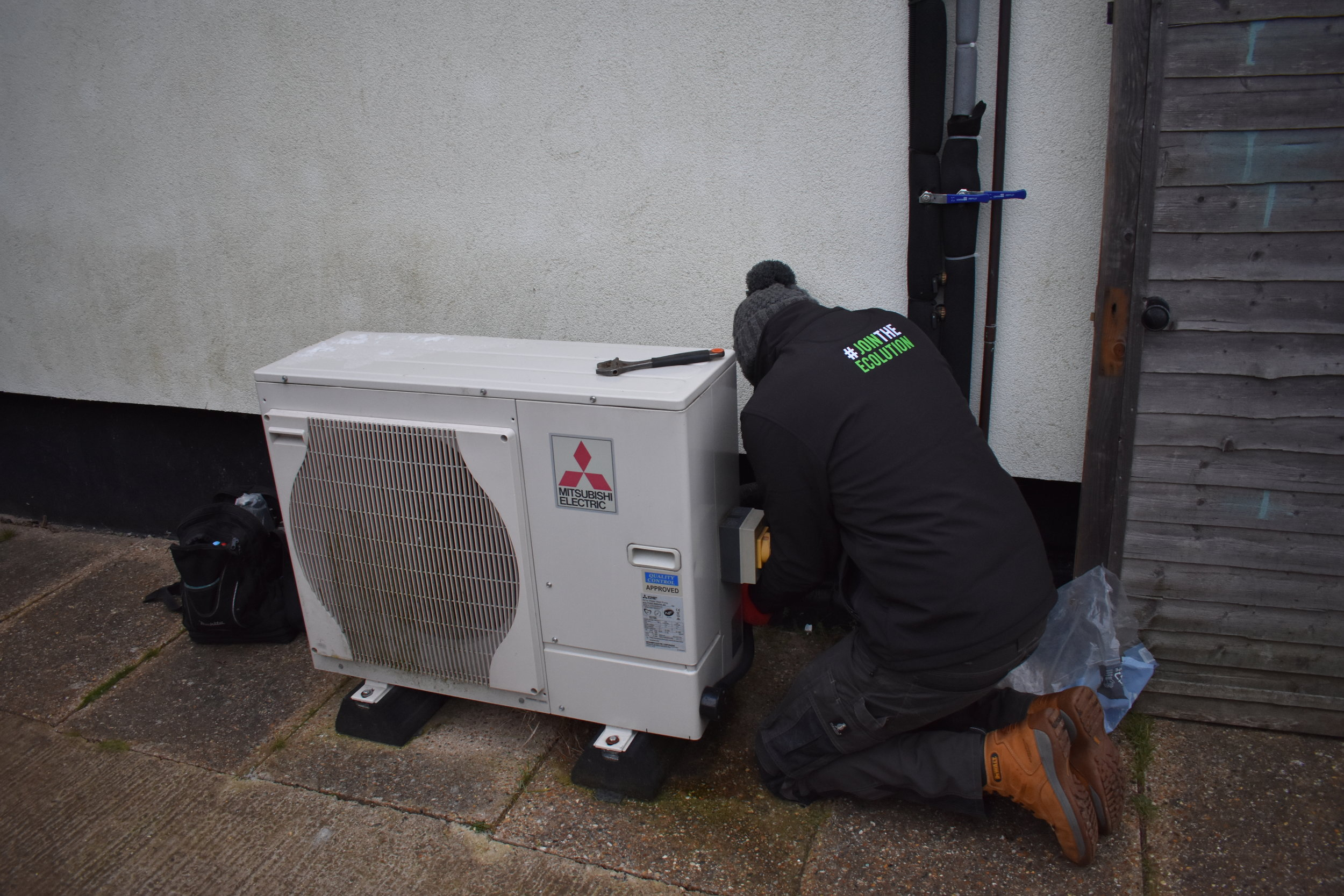 Maintenance Air Source Heat Pump ASHP