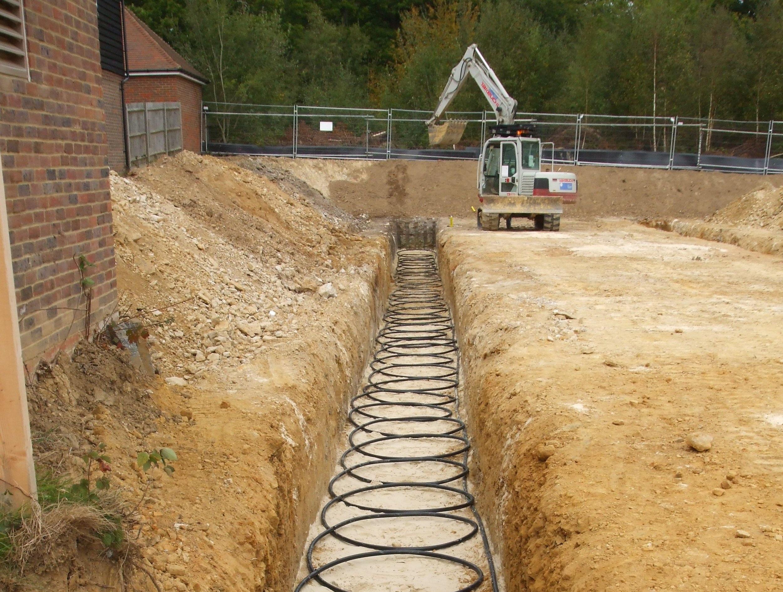 ground+source+heat+pump+gshp+installation