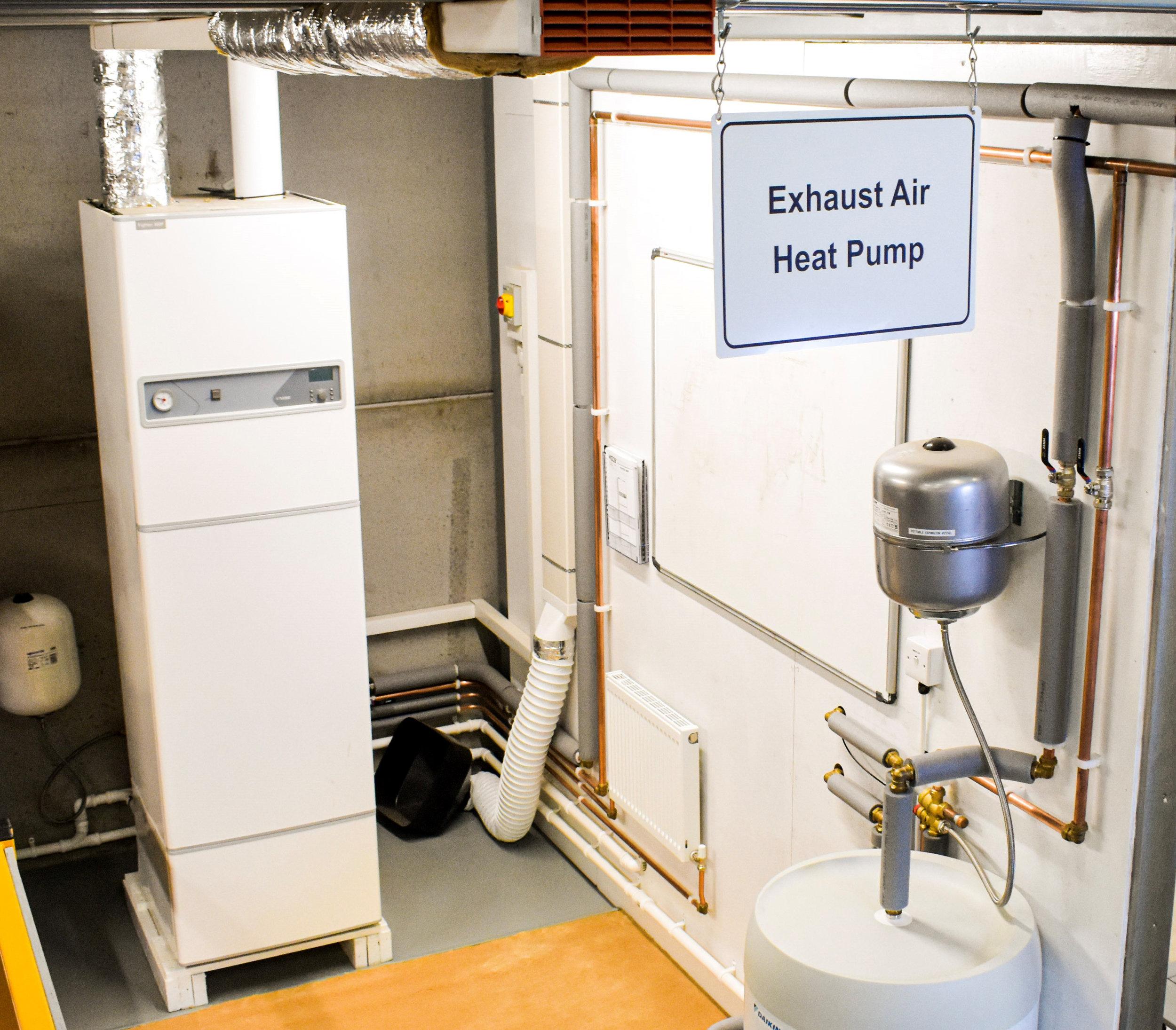 exhaust air source heat pump eashp services installation maintenance nationwide