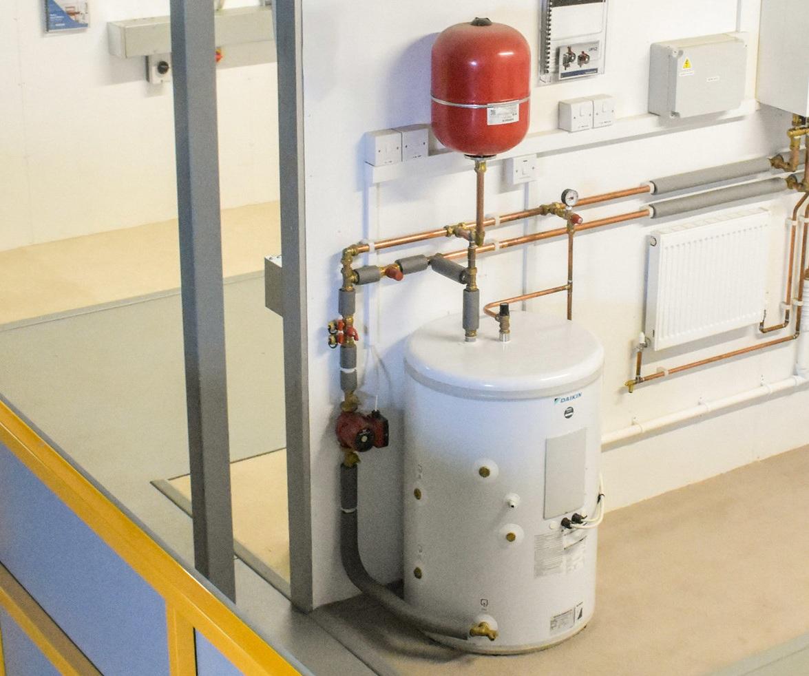 unvented cylinder installation maintenance