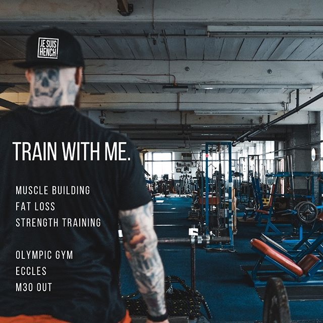 Are you a committed person who is ready to work hard for your goals? I'm looking to take on 1-2 new clients training out of Olympic Gym, Eccles. I can guarantee your results if you're ready to put the work in. Fat loss, Strength or Muscle Building whatever your goal I can help you achieve it! Message me for details and for a limited time only your first session will be free. • • • • • YouTube - Jesuishench. Subscribe to follow me on my progress. Getting on stage. • • • • • www.jesuishench.com. Free training plans, lifting advice, diet advice and more... • • • • • #gym #manchester #bodybuilding #nutrition #personaltrainer #exercise #motivation #fatloss #muscle #strong #training #diet #weightloss #lean #squats #doyouevenlift #me #legday #squats #bootyfordays  #doyouevenlift #blog #followforfollowback #me #legs #squats #squat  #chest #bench #deadlift #family