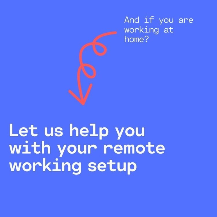 Set up your remote working