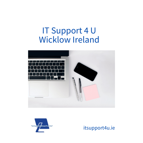 Considered as an essential business, ITSupport4U is still open to help you. If you have a problem with a device or needs help with your work from home setup,get in contact with us on support@itsupport4u.ie or call 0404-62773 / 01-9015737 and we can get things started for you. Click here for more information about how we provide during this time of Covid19.