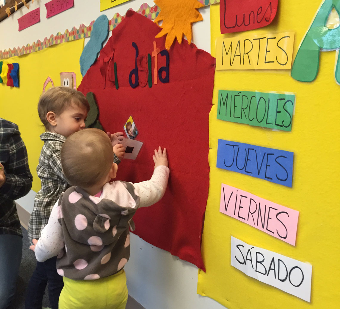 Our Approach - Through our unique combination of Spanish Immersion, project-based learning and the Creative Curriculum, our students become more than bilingual…They become globally and culturally aware citizens who enjoy and seek out education.Learn More