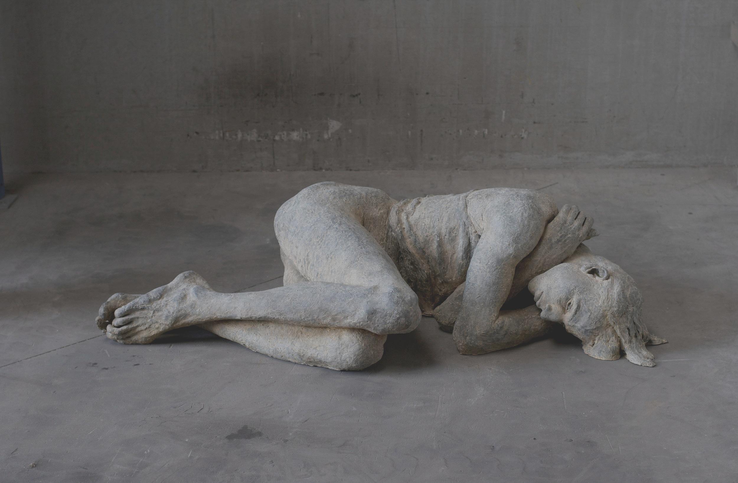 Menschen in der Nacht - Skulpturen von Lotta Blokker im Dialog mit der Telefonseelsorge Recklinghausen