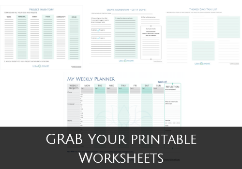 Grab Your Worksheets