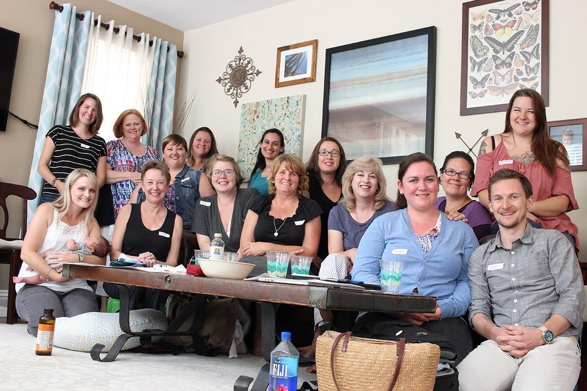 Empowered Papa class with Joe Valley and Mt. Diablo Doula Community