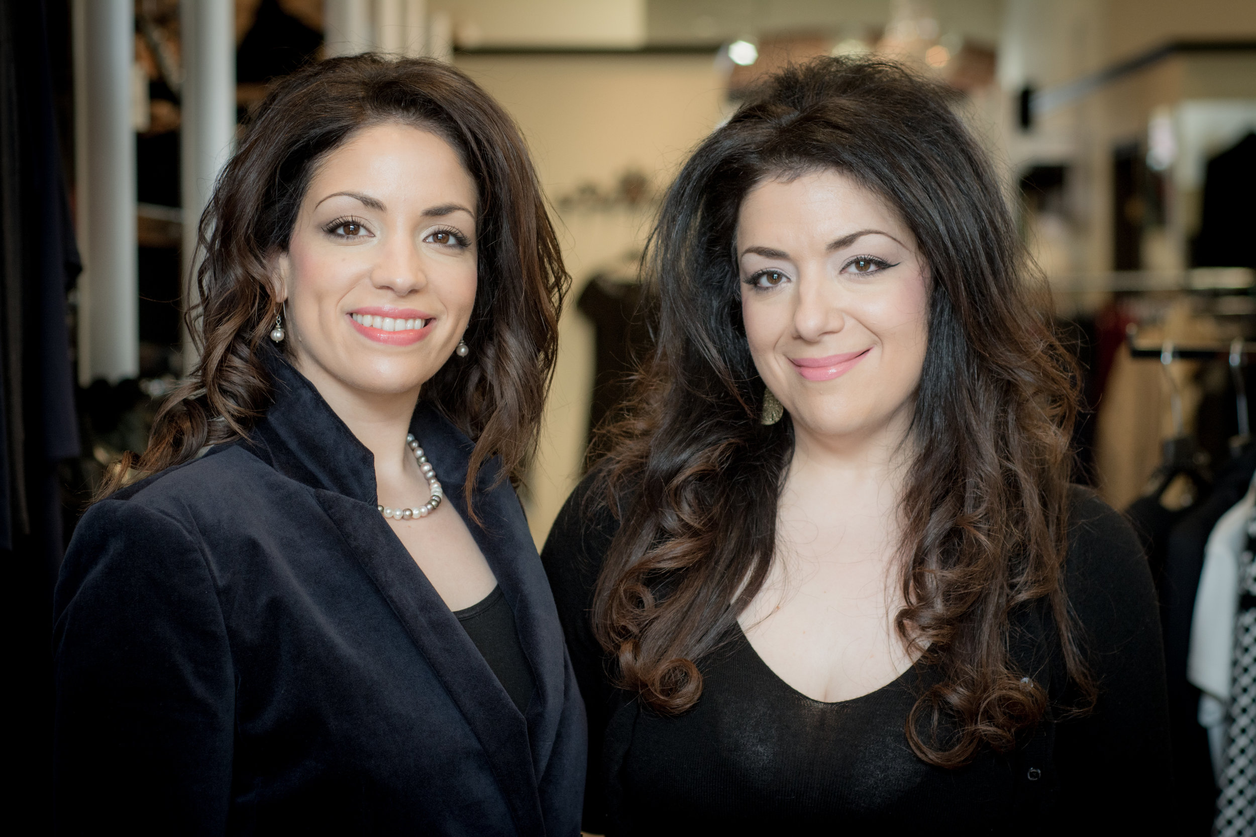Joanne and Maria Angelis